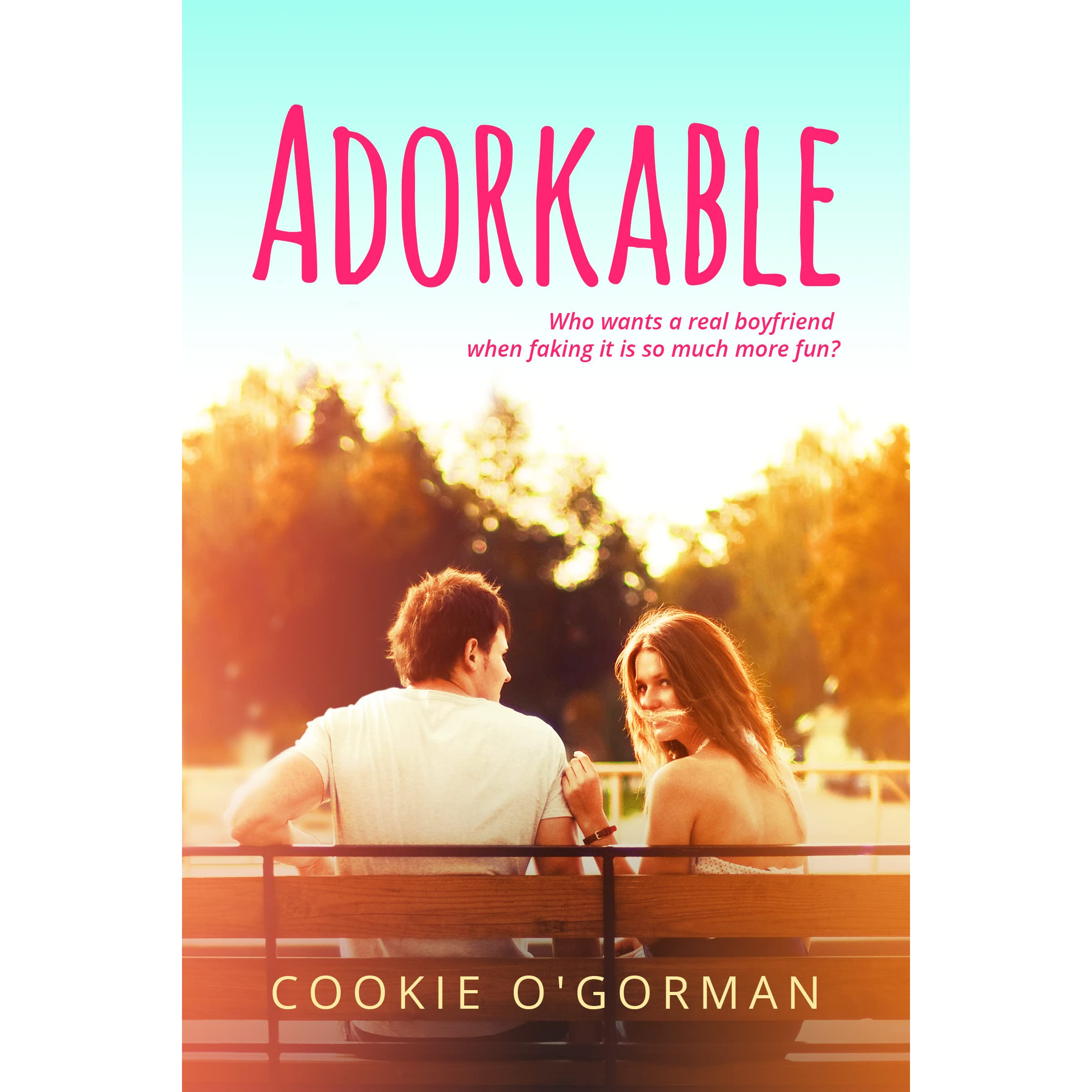Free Romance Book Cover Art ~ Adorkable by cookie o gorman — reviews discussion