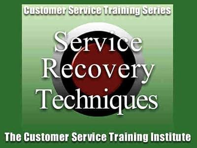Customer Service Recovery Skills