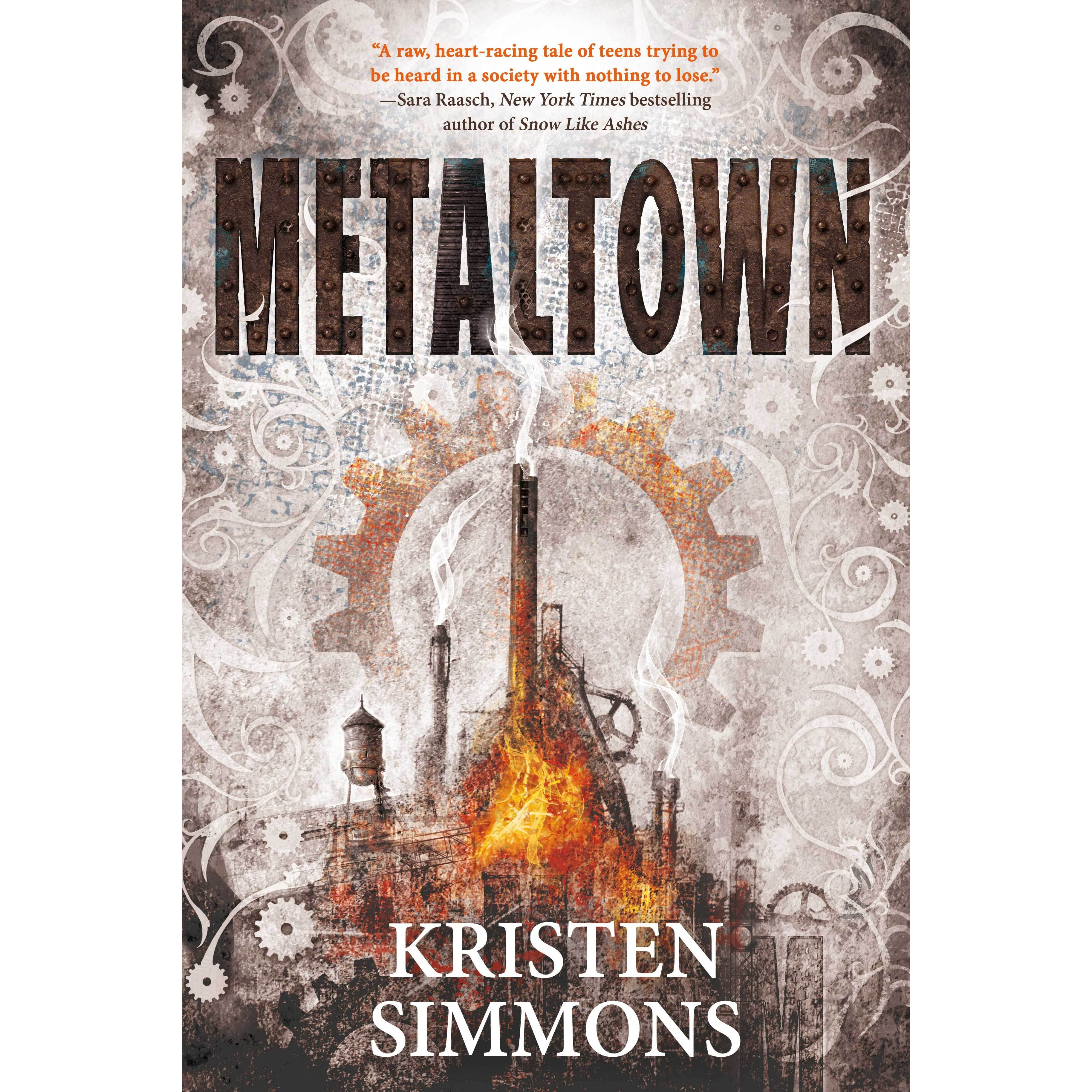 Book Cover Forros Reviews : Metaltown by kristen simmons — reviews discussion