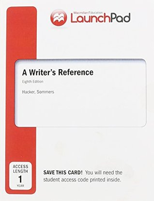 LaunchPad for A Writer's Reference (Twelve Month Access)