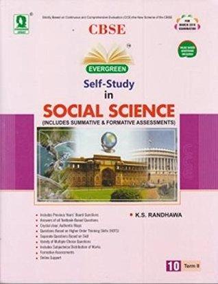 CBSE Self Study in Social Science Term II Class - 10