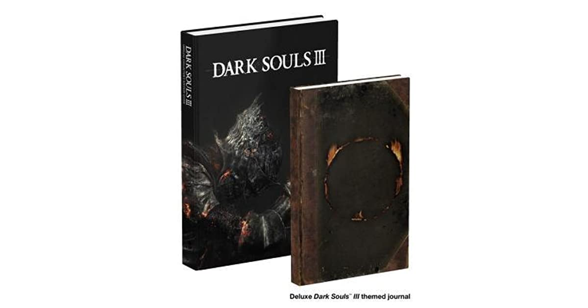 Dark Souls III Collectors Edition Prima Official Game Guide By