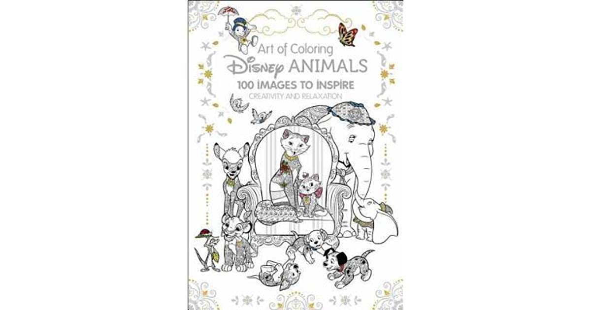 It's just a picture of Influential Art Of Coloring Disney Animals