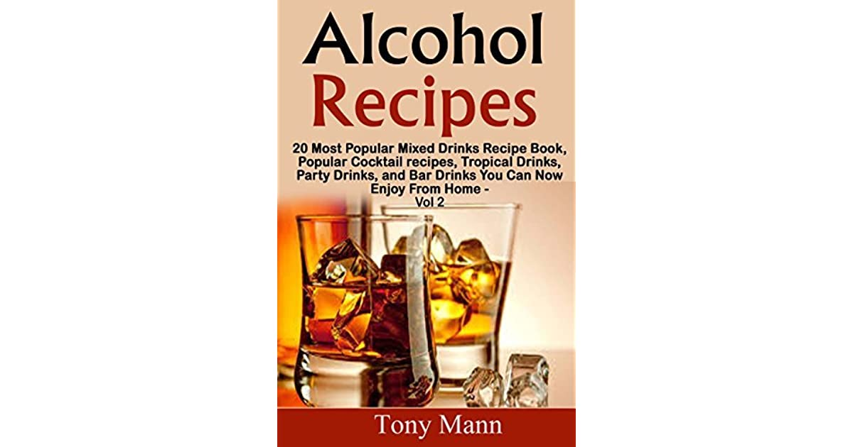 Alcohol recipes 20 tropical drinks recipe book popular for Good mixed drink ideas