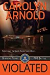 Book cover for Violated (Brandon Fisher FBI, #5)