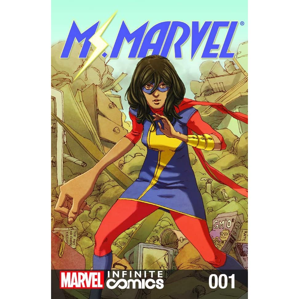 Ms Marvel Infinite #1 By G Willow Wilson €� Reviews, Discussion,  Bookclubs, Lists