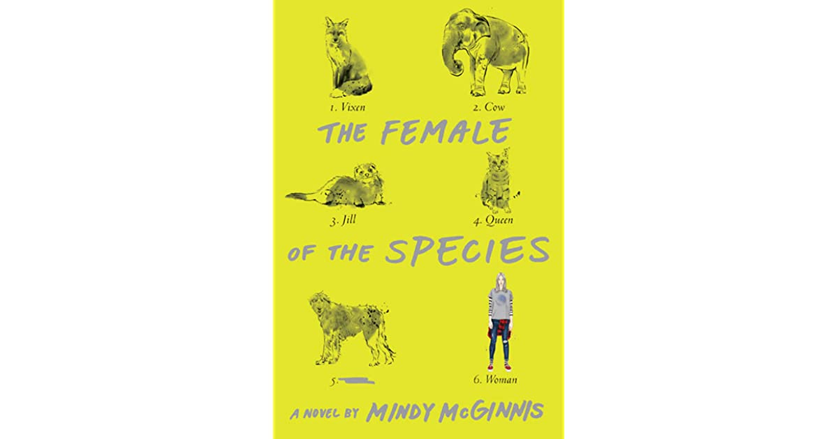 cdc2d4d5 The Female of the Species by Mindy McGinnis