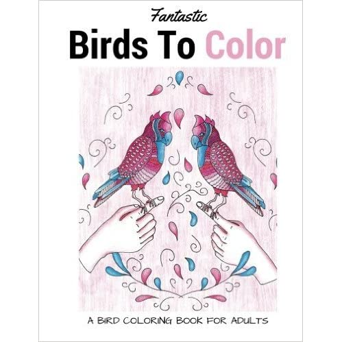 Fantastic Birds To Color A Bird Coloring Book For Adults By LightBurst Media