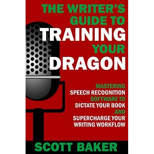 Writing a book with speech recognition software