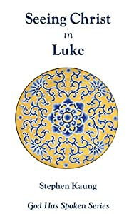 Seeing Christ in Luke: Seeing Christ as the Son of Man (God Has Spoken - Seeing Christ in the New Testament Book 3)