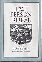 Last Person Rural: Essays