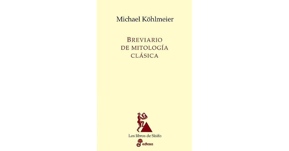Breviario De Mitologia Clasica By Michael Köhlmeier 2 Star
