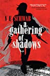 Book cover for A Gathering of Shadows (Shades of Magic, #2)
