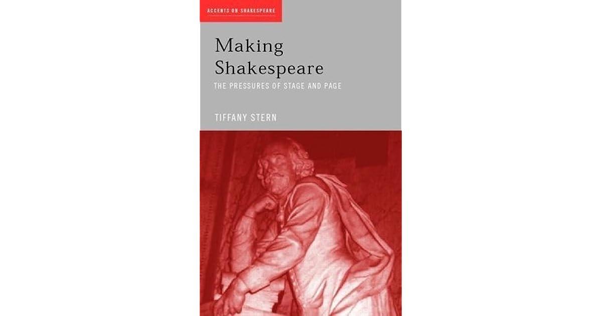 Making Shakespeare (Accents on Shakespeare)