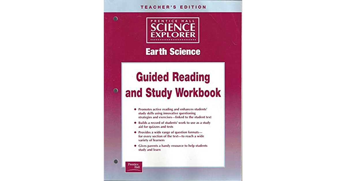 Science Explorer Earth Science Guided Study Workbook