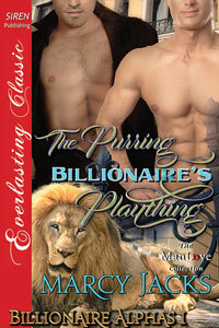 The Purring Billionaire's Plaything by Marcy Jacks