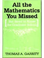 All the Mathematics You Missed South Asia Edition: But Need to Know for Graduate School