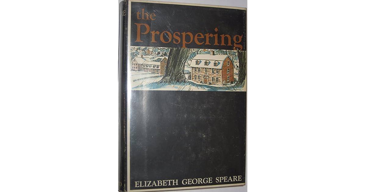 The Prospering by Elizabeth George Speare