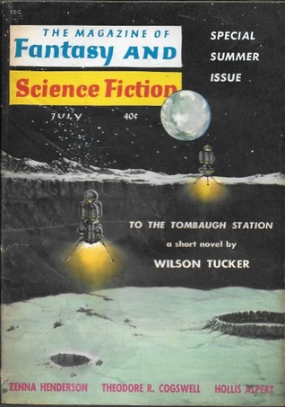 The Magazine of Fantasy and Science Fiction, July 1960 (The Magazine of Fantasy & Science Fiction, #110)