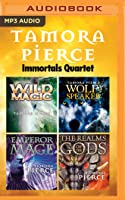 Tamora Pierce - Immortals Quartet: Wild Magic, Wolf-Speaker, Emperor Mage, The Realms of the Gods