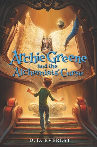 Archie Greene and the Alchemist's Curse (Archie Greene, #2)