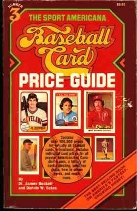 The Sport Americana Baseball Card Price Guide by James