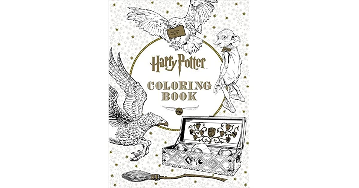 Harry Potter Coloring Book By NOT A BOOK