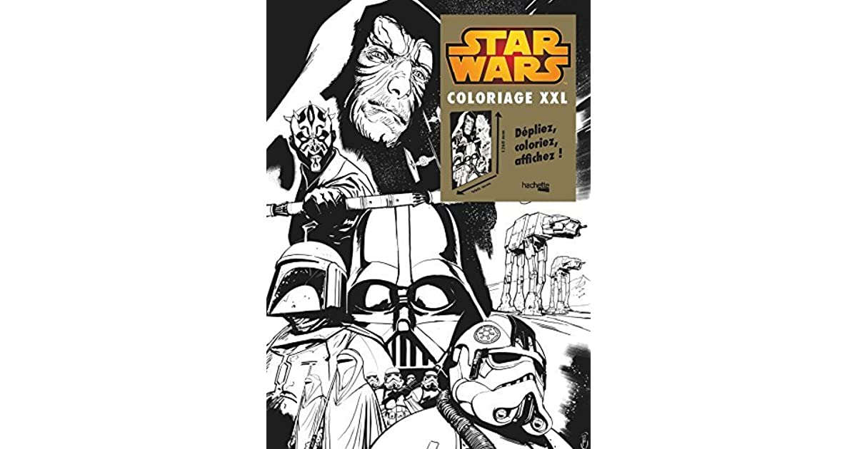 Star Wars Coloriage Xxl By Ronan Toulhoat