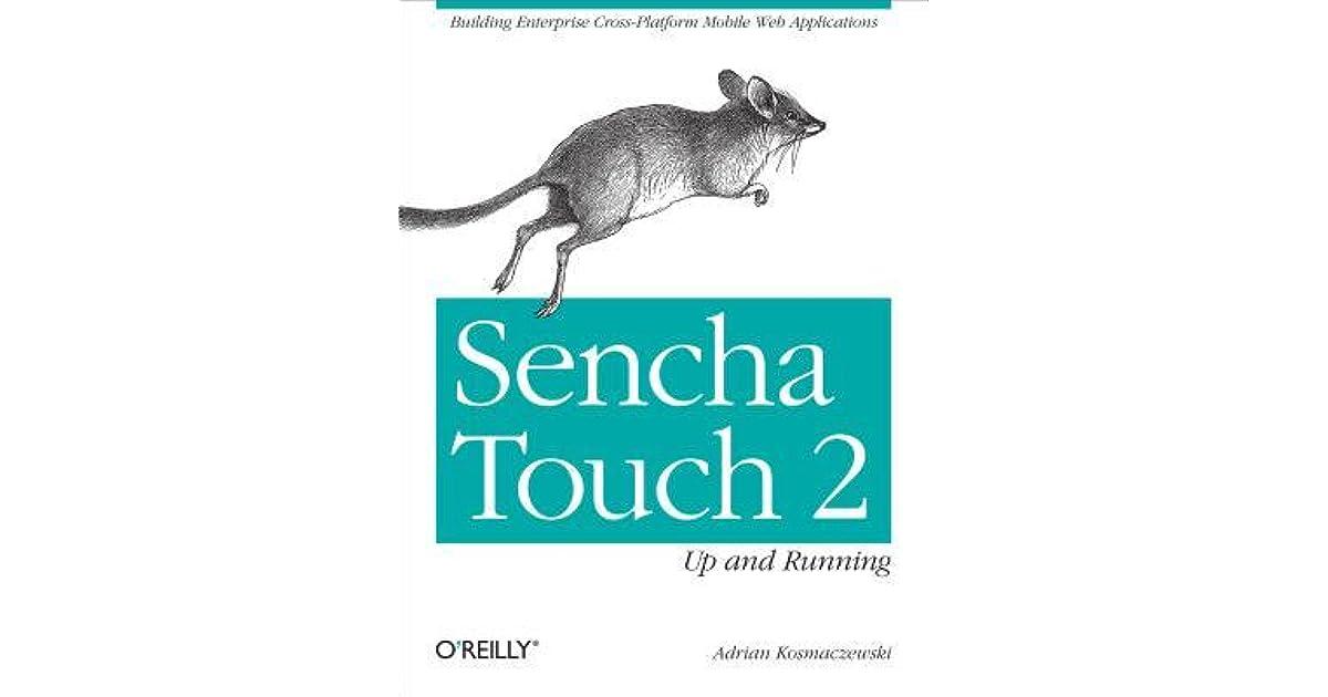 Building A Sencha Touch Application Ebook