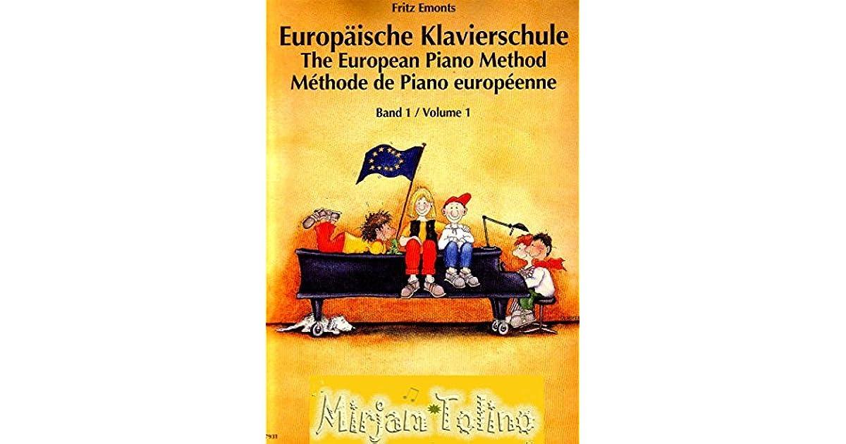 Fritz Emonts Europäische Klavierschule Band 1 Fachliche Kommentare In Form Von Pop Ups By Mirjam Tolino