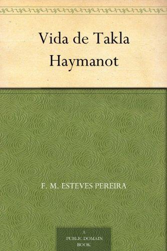 Vida de Takla Haymanot  by  Manuel de Almeida