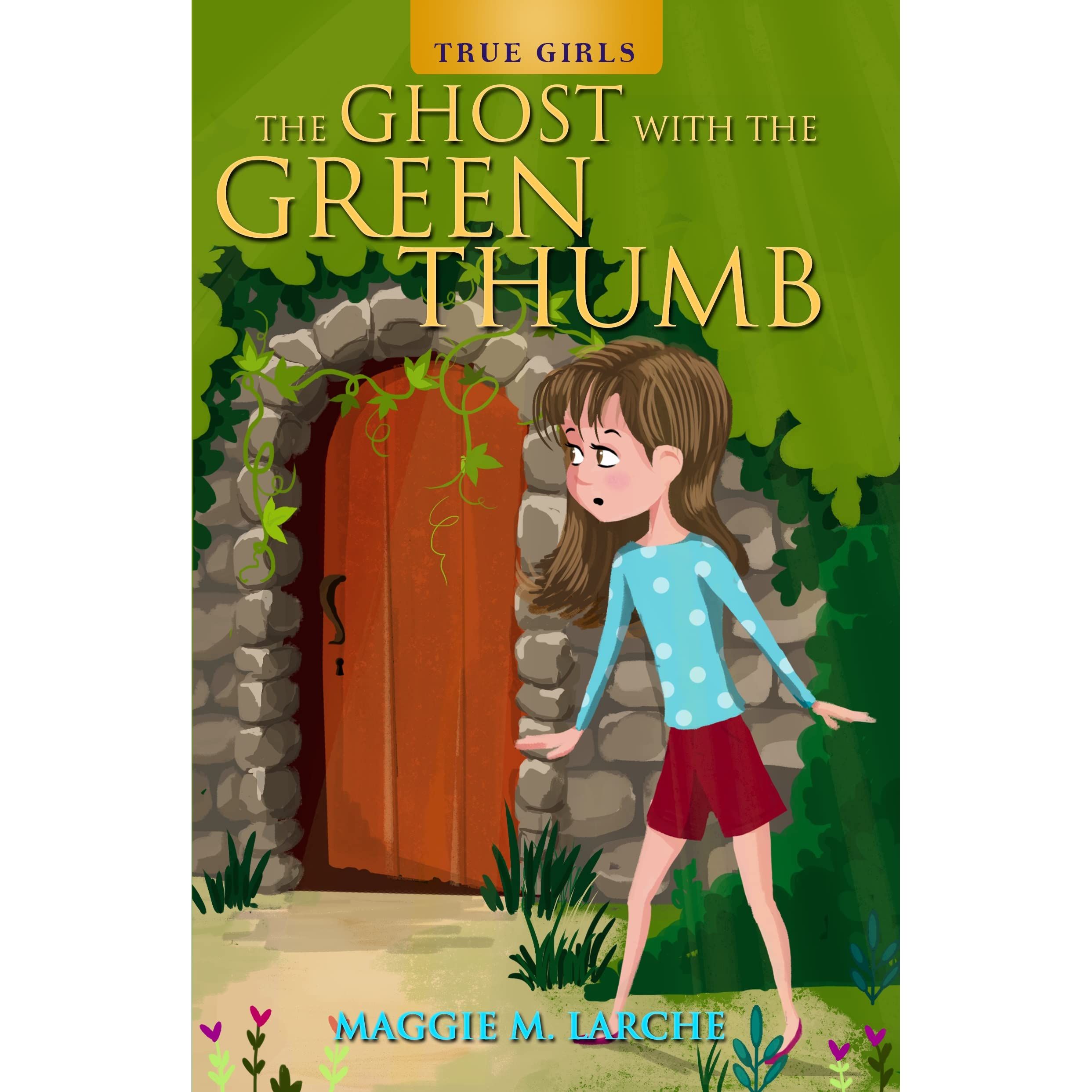 The Ghost With The Green Thumb By Maggie M Larche €� Reviews, Discussion,  Bookclubs, Lists