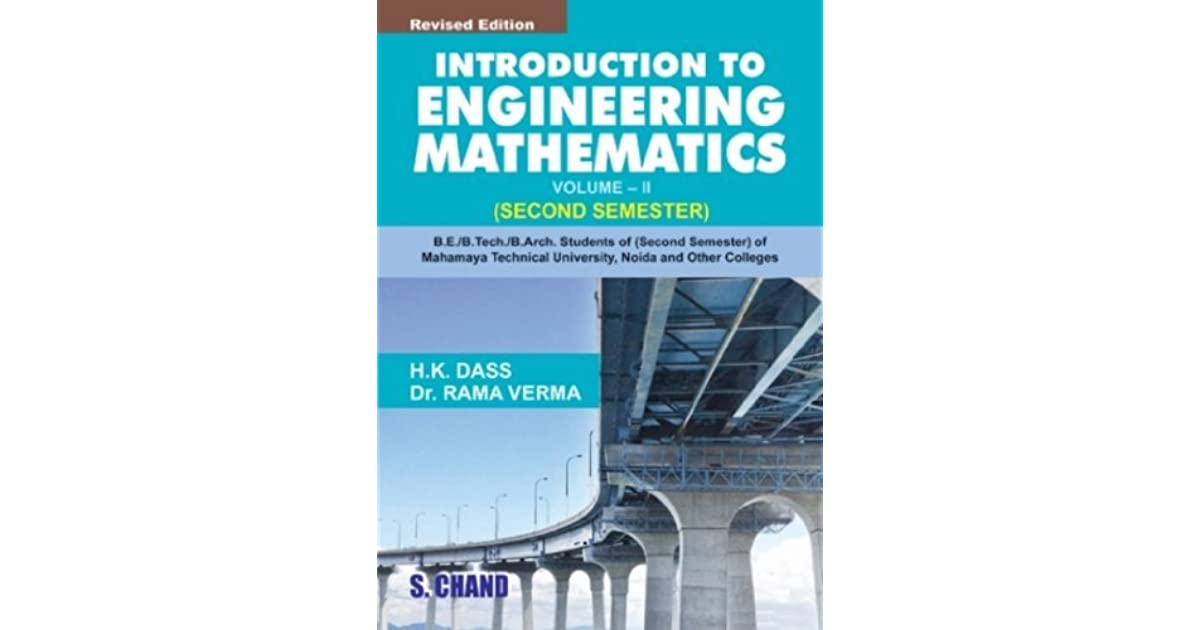 Introduction to Engineering Mathematics - Vol  2 by H K  Dass