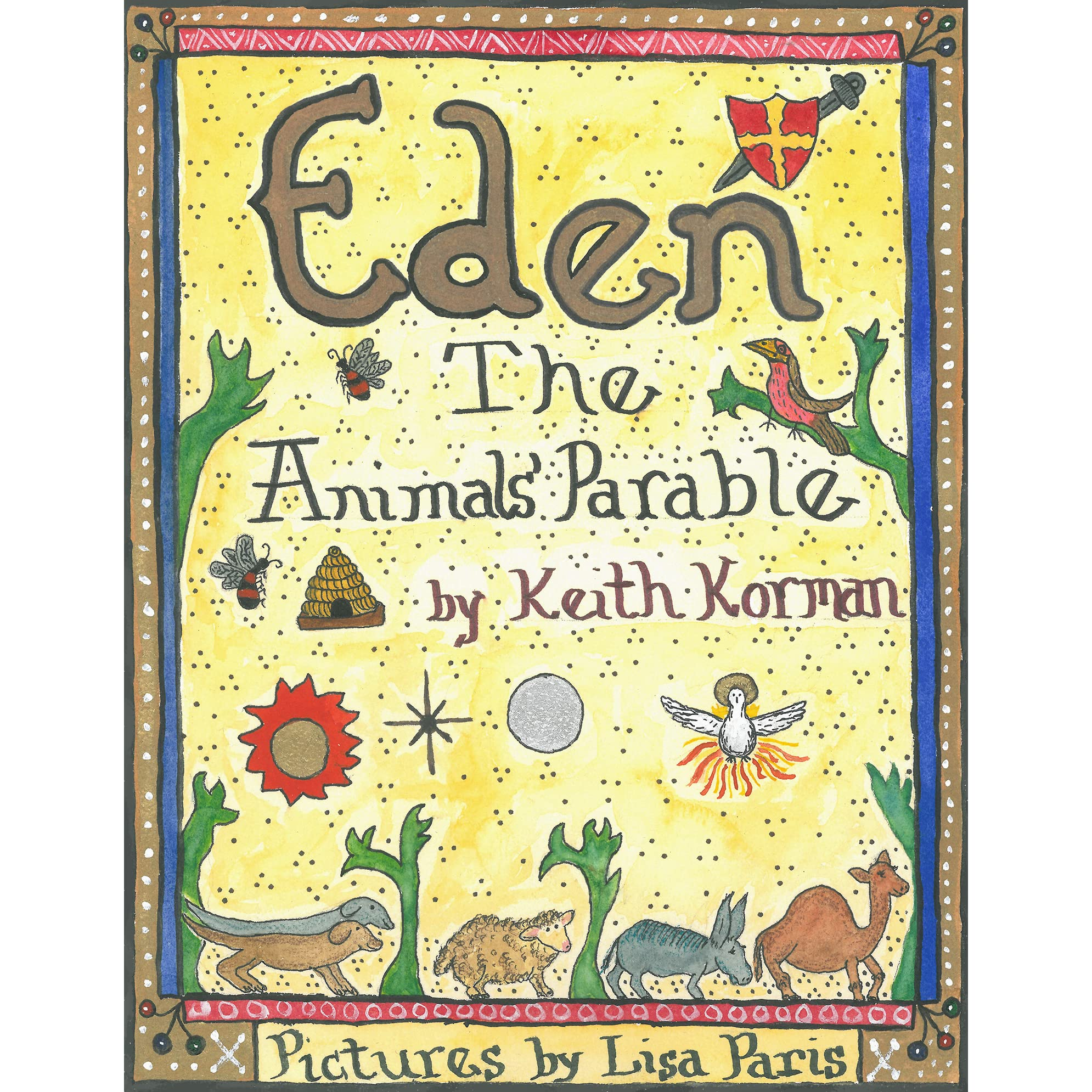 Children Of Eden Book Cover : Eden the animals parable by keith korman — reviews