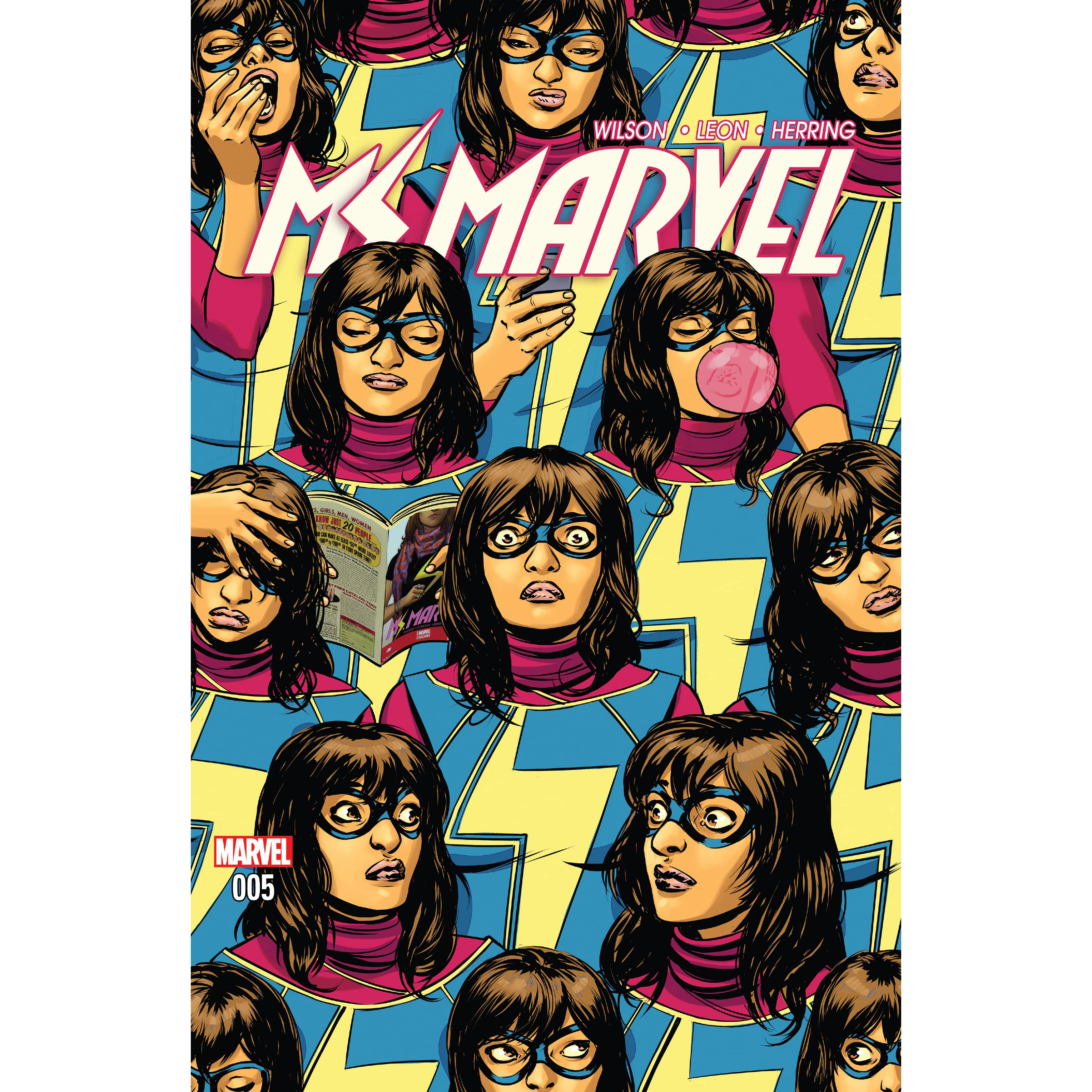 Ms Marvel, #5: Army Of One, Part 2 By G Willow Wilson €� Reviews,  Discussion, Bookclubs, Lists