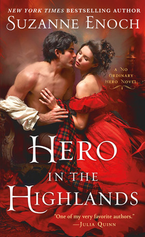 Book cover of, Hero in the Highlands, by Suzanne Enoch