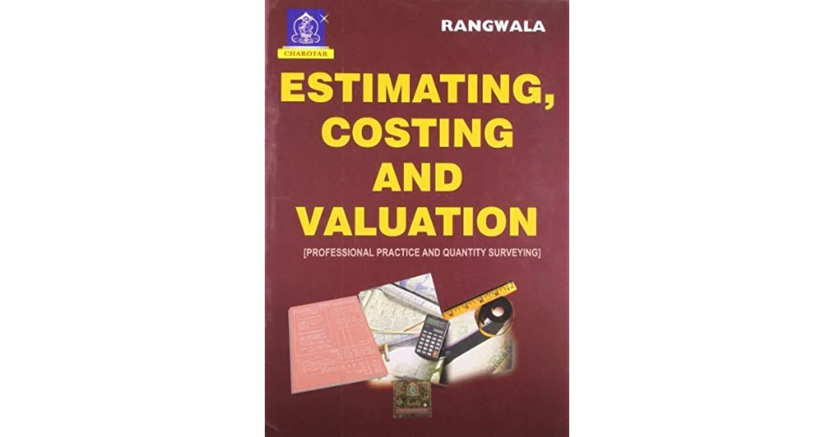 Estimating costing and valuation by rangwala fandeluxe Image collections
