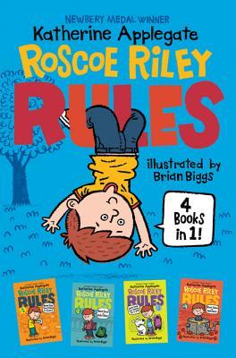 Roscoe Riley Rules 4 Books in 1!: Never Glue Your Friends to Chairs / Never Swipe a Bully's Bear / Don't Swap Your Sweater for a Dog / Never Swim in Applesauce (Roscoe Riley Rules, #1-4)