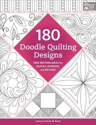 Ebook Download 180 Doodle Quilting Designs: Free Motion Ideas for