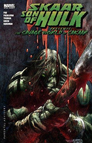 Skaar: Son of Hulk Presents - The Savage World of Sakaar #1 Greg Pak