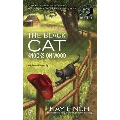 The black cat knocks on wood by kay finch fandeluxe Ebook collections