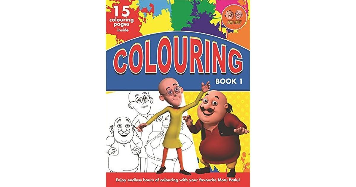 Motu Patlu Colouring - Book 1 by BPI INDIA