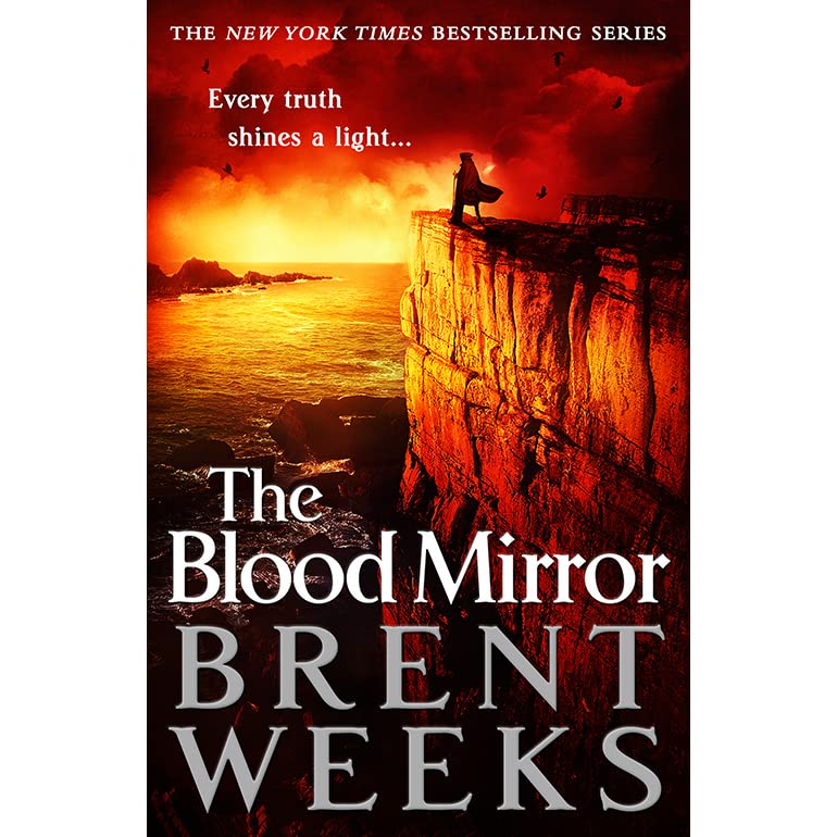 The blood mirror lightbringer 4 by brent weeks for Mirror books