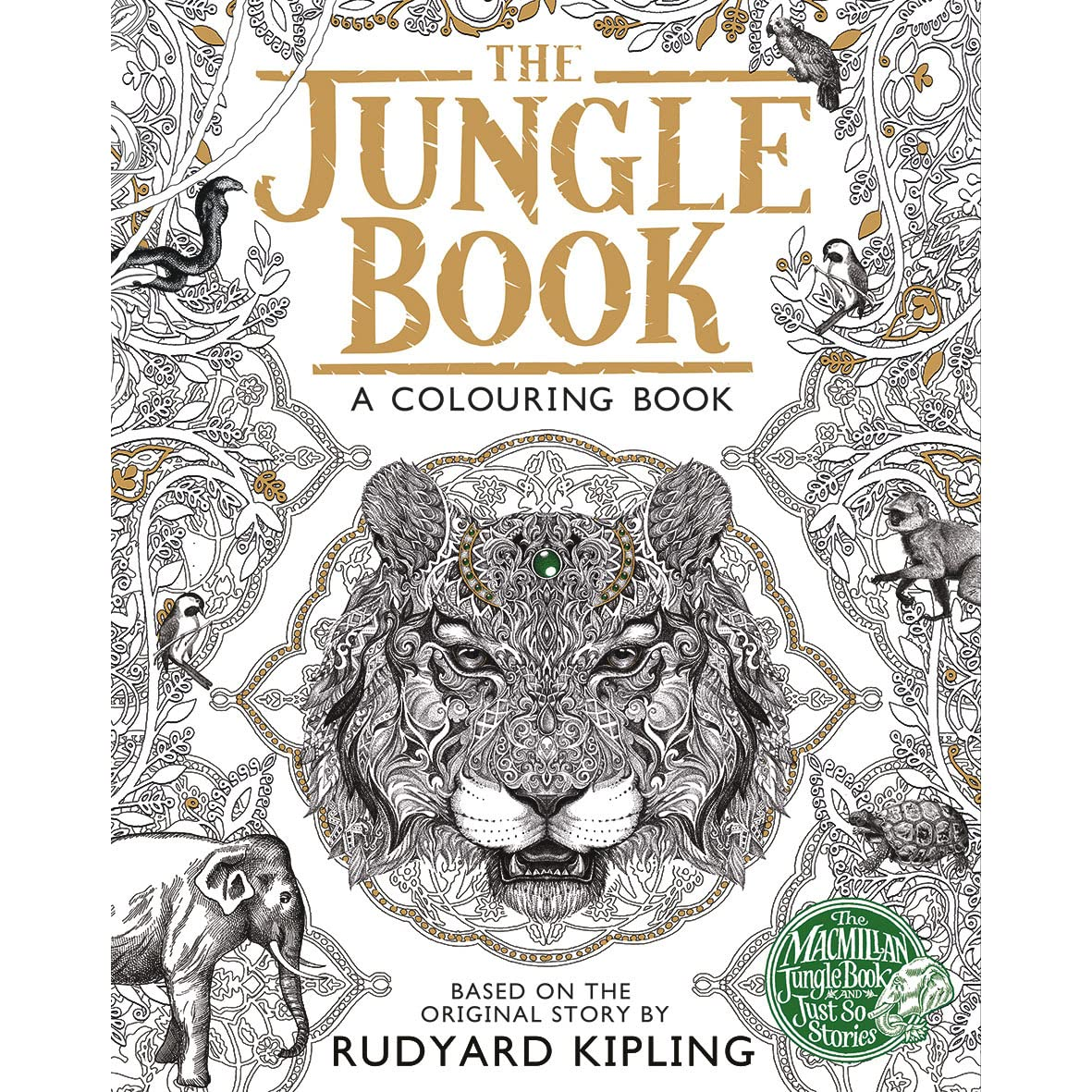 Jungle book colouring in pictures - The Macmillan Jungle Book Colouring Book By Rudyard Kipling Reviews Discussion Bookclubs Lists