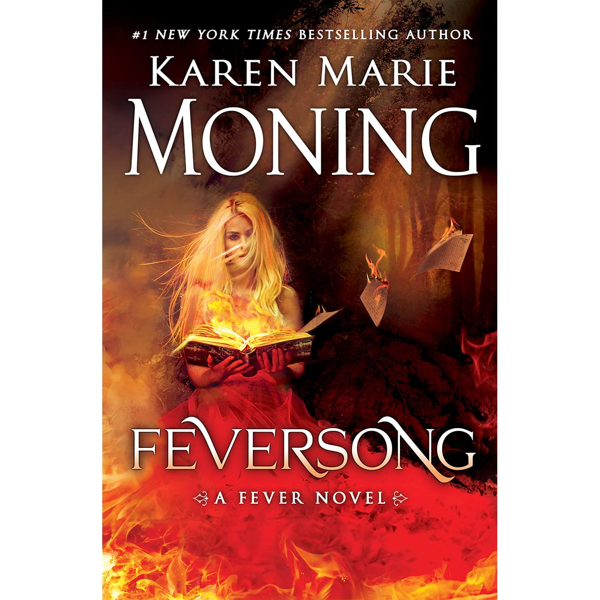 Book Cover Series Review ~ Feversong fever by karen marie moning — reviews