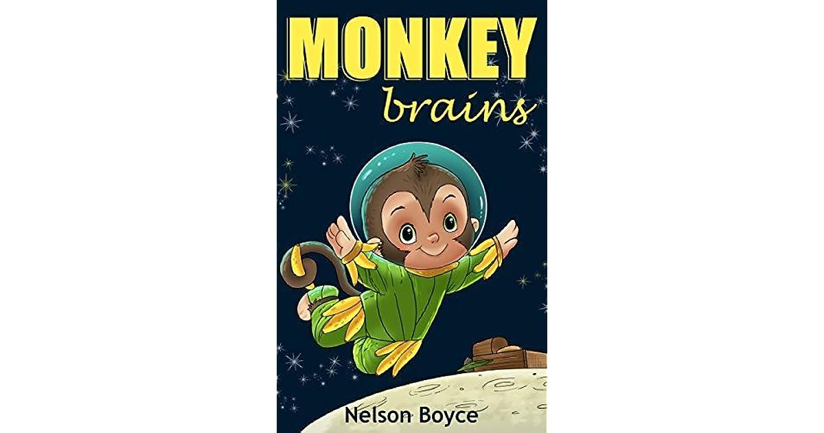 Childrens Book Monkey Brains -Kids Hillarious, Action  Adventure -3179