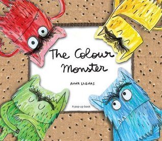 The Color Monster A Pop Up Book Of Feelings By Anna Llenas