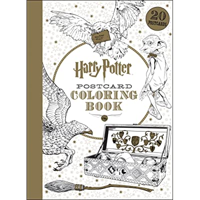 Harry Potter Postcard Coloring Book By NOT A BOOK