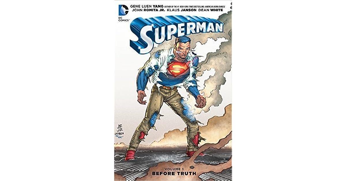 Superman Volume 1 Before Truth By Gene Luen Yang