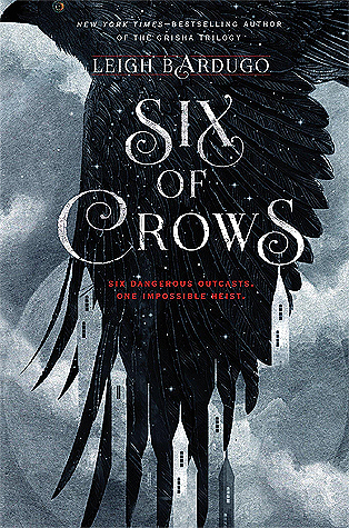 "Book cover of ""Six of Crows"" by Leigh Bardugo"